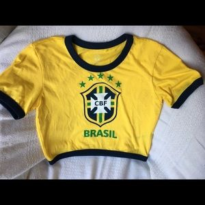 7a0bc84390e0eb Forever 21 Tops - New!! Brazil Crop Top!🇧🇷
